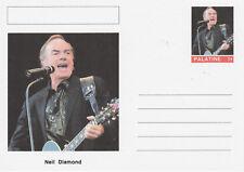 CINDERELLA - 5865 - NEIL DIAMOND  on Fantasy Postal Stationery card