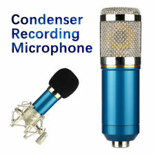 New ListingBm800 Condenser Blue Microphone Studio Pro Audio Pickup Recording Mic Shockmount
