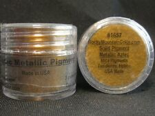 MICA~PIGMENT~TAXIDERMY~PAINT~FISH~TROUT~BASS~#1657~LOOSE POWDER~RMC~AZTEC METALC