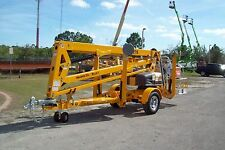 Haulotte 4527A 51' Height Towable Boom Lift,27'Outreach,Still Made in USA, 2018s