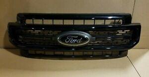 New Take Off Original Grille Fits 2020 Ford Super Duty Lariat Sport Grille BLACK