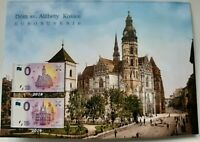 3 x 0 Euro Souvenir Banknote s 2018 2019 KOSICE LIMITED EDITION FIRST SK FOLDER