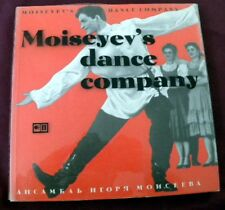 SIGNED Moiseyev's Dancy Company Book SIGNED multiple