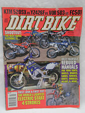 Dirt Bike Magazine May 2000 Do It Yourself Rebuild Manuals Seats Wheels Brakes