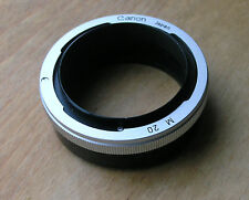 genuine Canon FL FD  manual 20mm extension tube non auto M20