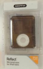 GRIFFIN REFLECT MIRRORED CASE COVER PROTECTOR IPOD NANO 3G 3RD GEN