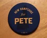 Pete Buttigieg Official 2020 President Campaign Button Pin New Hampshire