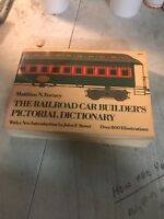 THE RAILROAD CAR BUILDER'S PICTORIAL DICTIONARY FORNEY STOVER DOVER 1974 BOOK