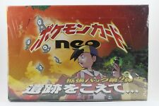 Japanese Pokemon Neo 2 Booster Box Sealed 60 Pack Discovery Umbreon Espeon Holo
