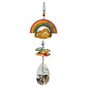 Rainbow Crystal window hanging rainbow maker suncatcher chakra Thank You