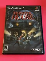 🔥 SONY PS2 PlayStation Two 💯 COMPLETE WORKING GAME 🔥MONSTER HOUSE🔥