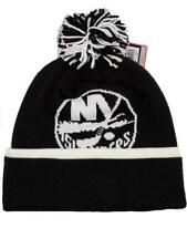 New York Islanders Mens Size OSFA Reebok Black Thick Cuffed Beanie $24