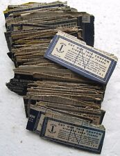 Kirkman Soap Flakes Coupons Cut From Boxes (97) circa 1949-1953