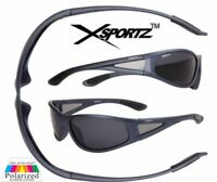 Mens Designer Polarised Wrap Round Sunglasses Fishing Cycling Golf Sports UV400