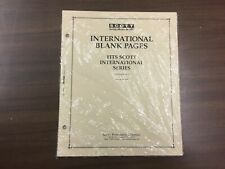 1 Pack Of SCOTT Blank Pages For International Albums - Border C - #ACC130