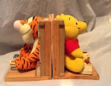 Winnie The Pooh & Tigger Bookend Buddies Plush Figures And Removable Books