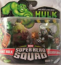 Marvel Super Hero Squad PLANET HULK & SILVER SAVAGE-BRAND NEW!