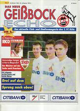 BL 92/93 1. FC Köln - VfB Stuttgart