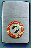 AGENT ORANGE VIETNAM VETERAN WIND PROOF PREMIUM LIGHTER IN A GIFT BOX SBC064