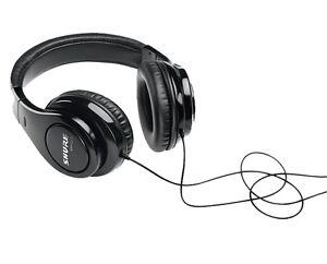 Shure SRH240A Pro Quality Closed-back, Circumaural Headphones in Black - NEW