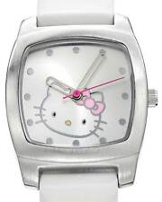 HELLO KITTY  Ladies Watch in White Leather Model h3wl1005nonnf