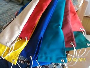 SAILBOAT TILLER COVER'S U-PICK the COLOR and LENGTH of SUNBRELLA Marine Canvas