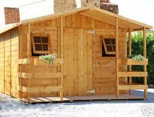 Kit Tettoia frontale per casette e box in legno