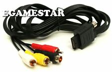 6 Foot Audio Video AV Cable to RCA for PlayStation PS1 / PS2 / PS3 Console