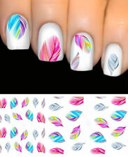 Colorful Beauty hot Feature Nail Art Water Transfer Decal Sticker Rainbow Dreams