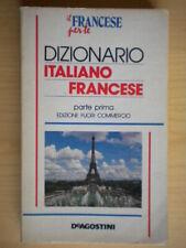 Dizionario italiano francese 1De Agostinivocabolario linguistica come nuovo 48