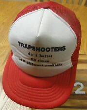 """VTG """"TRAPSHOOTERS DO IT BETTER 28 TIMES AT 5 DIFFERENT POSITIONS"""" SNAPBACK HAT"""