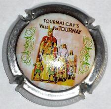 0102 CAPSULE DE CHAMPAGNE Récoltant BOURMAULT Luc 11b TOURNAI CAP/'S