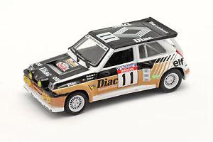 Renault 5 Maxi Turbo #11 Rallye Tour de Corse 1986 Chatriot, Perin 1:43 Norev