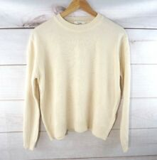 Noul Oak and Fort Small Cream Womens Knitted Pullover Sweater Sz OS