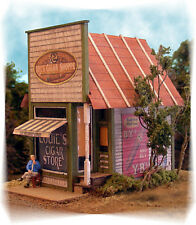 Bar Mills Papa Lou's Cigar Shoppe Laser-Cut Wood Structure Kit #0492 HO Scale