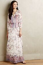 NWT Sestina Silk Maxi Dress Twelfth Street by Cynthia Vincent Boho Small S