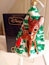 "Christopher Radko/ Disney ""BAMBI"" 1997  W/Box /TAG/classic ornament #3056/5000"