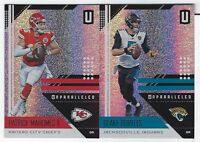 2018 Panini Unparalleled Football COMPLETE YOUR SET #1-200 Base Cards YOU PICK