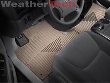 WeatherTech All-Weather Floor Mats for Toyota Sienna 2004-2010 - 1st Row - Tan