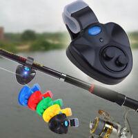 Avvisatore Abboccata Elettronico Canna Pesca Allarme Sonoro LED Acustico Alarm