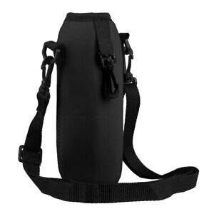 Outdoor Water Bottle Carrier Insulated Cup Bag Hiking Belt Holder Kettle Pouch
