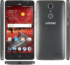 ZTE Grand X4   Cricket   16 GB   Black   5.5 in   Z956   Excellent Condition
