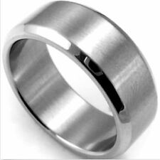Mens Jewelry Stainless Steel Silver Boys Vintage Bands Rings Size 9