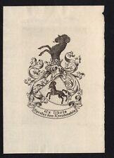 09)Nr.155- EXLIBRIS-Heraldik / heraldry, Künstler / artist C.K.