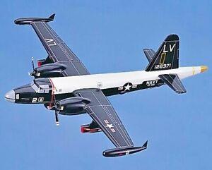 Lockheed P2V-7F NEPTUNE US Navy 1/70 Wood Model Airplane Airtanker Fire Bomber