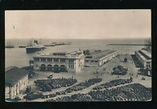 North Africa Algeria ALGIERS Gare Maritime Used 1929 RP PPC