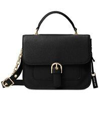 NWT Michael Kors COOPER Black Leather LG School Satchel~MSRP$378