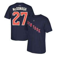 Ryan McDonagh Reebok New York Rangers Premier N&N Navy Blue Jersey T-Shirt Men's