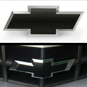 Silverado Chevy Bowtie Emblem Overlay Decal Vinyl Wrap Sheets (2) ANY YEAR★★★★★