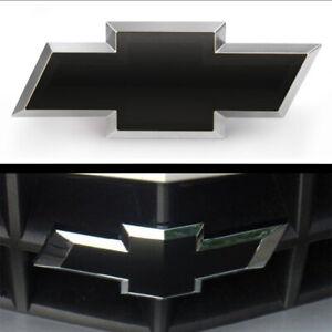 Silverado Chevy Bowtie Emblem Overlay Decal Vinyl Wrap Sheets (2) ANY YEAR★★★★★